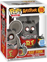 Vinylová figurka č. 15 Ad-Icons - Rat Fink (Funko Shop Europe)