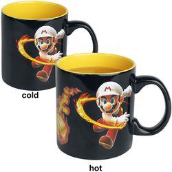 Hrnček Fireball s potlačou, ktorá sa pod vplyvom tepla mení