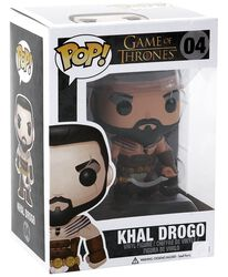 Vinylová figúrka č. 04 Khal Drogo