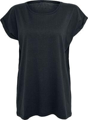 Dámske tričko s rozšírenými pleciami