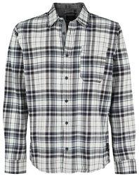Pánska flanelová kockovaná košeľa