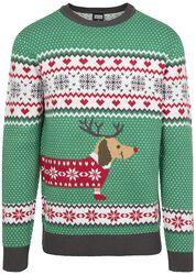 Viančoný sveter Sausage Dog