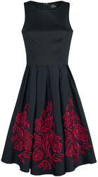 Šaty Anna Adorable s kvetovanou výšivkou