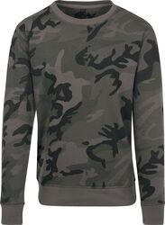 Tričko s kamufláž vzorom