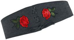 Denimový opasok Rose