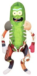 Plyšová figúrka Galactic Plushies - Pickle Rick in Rat Suit (cca 46 cm)