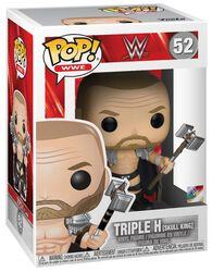 Vinylová figúrka č. 52 Triple H (Skull King) (s možnosťou chase)