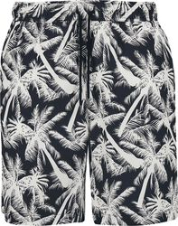 Šortky Pattern Resort - White Palm