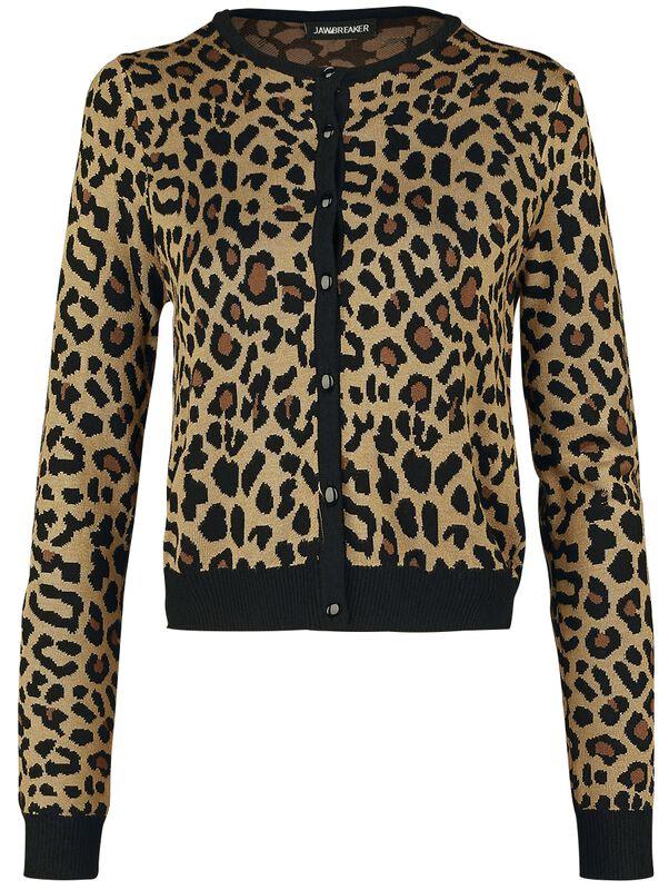 Krátky leopardí kardigán Change My Spots