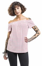 Tričko s odhalenými ramenami