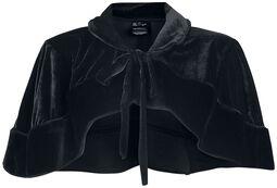 Viktoriánske bolero Black Velvet