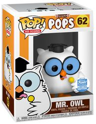 Vinylová figúrka č. 62 Ad Icons: TootsieRoll Pops - Mr. Owl (Funko Shop Europe)