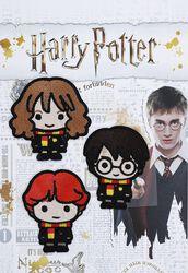 Nášivky s motívmi Harryho, Rona a Hermiony