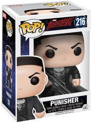 Vinylová figúrka s pohyblivou hlavou č. 216 Punisher (s možnosťou chase)