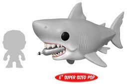 Vinylová figúrka č. 759 Jaws - Great White Shark with dividing Tank (Oversized)