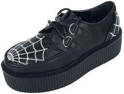 Topánky Creepers s pavúkom