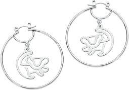 Kruhové náušnice Disney by Couture Kingdom - Simba