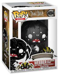 Vinylová figúrka č. 404 Webber and Warrior Spider