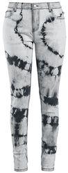 Batikované džínsy