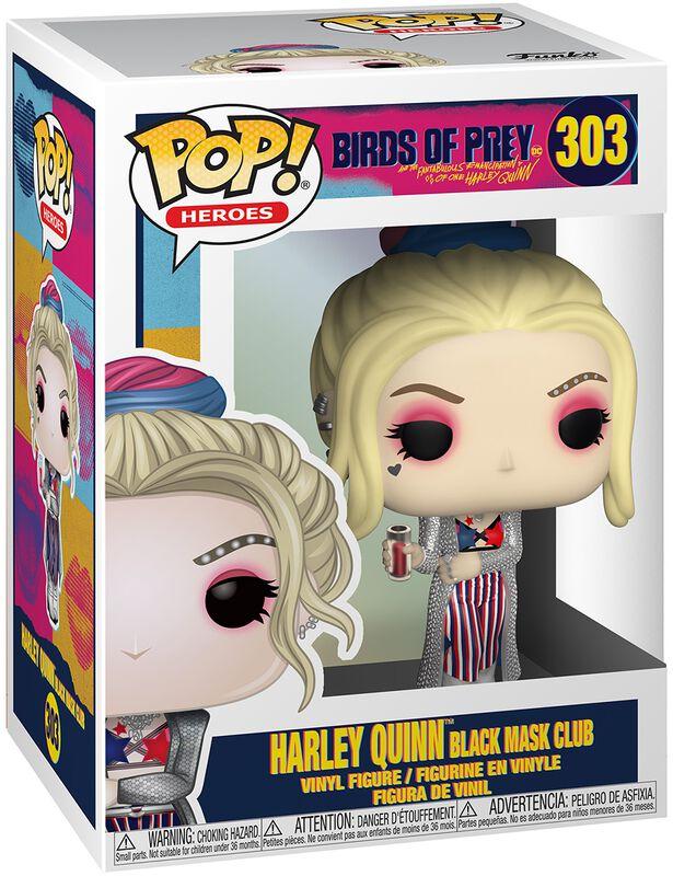 Vinylová figúrka č. 303 Harley Quinn Black Mask Club