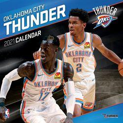 Oklahoma City Thunder - kalendár 2021