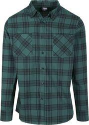 Kockovaná flanelová košeľa 7