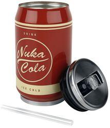 Kovová plechovka na nápoj Nuka Cola