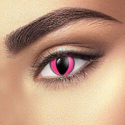 Kontaktné šošovky Pink Cat Eye