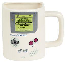 Hrnček Game Boy s vrecúškom na keksy