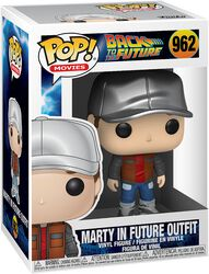 Marty in Future Outfit Vinyl Figure 962