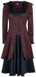 Viktoriánske brokátové šaty