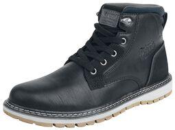 Čierne ležérne topánky