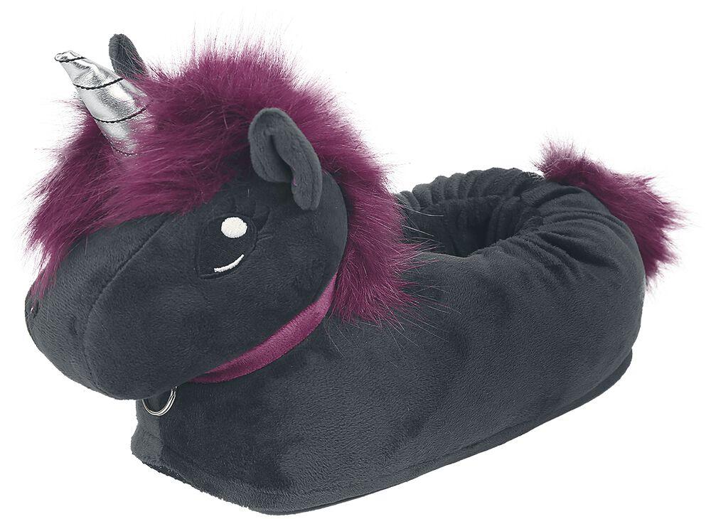 Detské papuče Corimori - Ruby Punk Unicorn