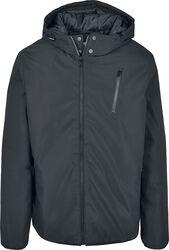 Športová bunda s kapucňou na zips
