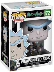 Vinylová figúrka č. 172 Weaponized Rick (s možnosťou chase)