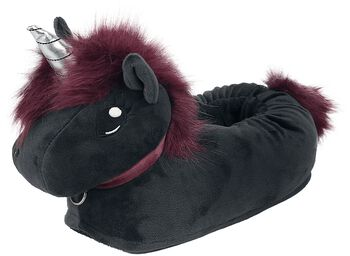 Papuče pre dospelých Corimori - Ruby Punk Unicorn
