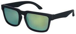 Slnečné okuliare s modrými zrkadlovými sklami
