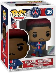 Football Vinylová figúrka č. 36 Paris Saint-Germain - Presnel Kimpembe