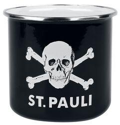 Hrnček na stanovačku Skull