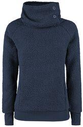 Dámsky flisový sveter s vysokým golierom