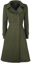 Dlhý kabát Martha 40s