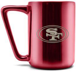 Hrnček s laserovým logom San Francisco 49ers