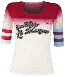 1edd06e28e9 ... Suicide Squad Oblečenie Tričká a topy. Harley Quinn - Daddy s Little  Monster