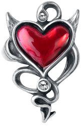 Prsteň Devil Heart