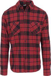 Kockovaná flanelová košeľa 2