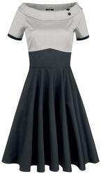 Šaty Darlene Retro s kruhovou sukňou