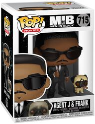 Men in Black Agent J and Frank Vinyl Figure 715