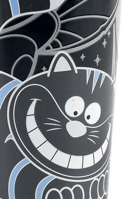 Hrnček Cheshire Cat s potlačou, ktorá sa pod vplyvom tepla mení