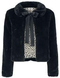 Plyšový kabátik Leopard