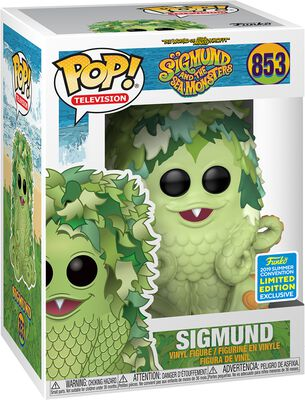 Sigmund and the Sea Monsters Vinylová figúrka č. 853 SDCC 2019 - Sigmund (Funko Shop Europe)